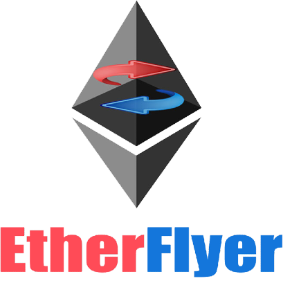 EtherFlyer Crypto Exchange Logo