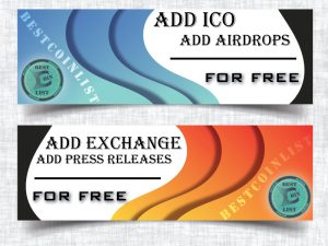 Add Your ICO, Exchange, Airdrop, Press Release For Free!