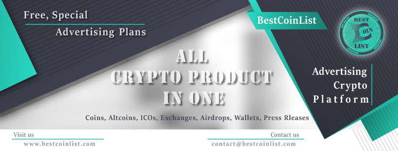 BCL (BestCoinList) Web Application for Crypto Product Holders