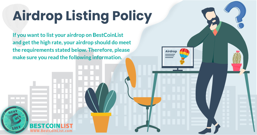 AIrdrop Listing Policy