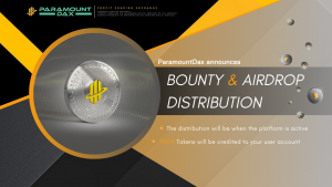 ParamountDax Bounty and Airdrop Distribution