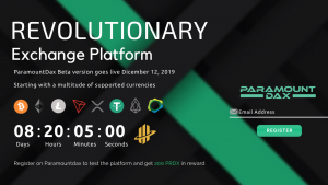 Bounty Rewards for Beta testers on The ParamountDax Platform — 200 PRDX