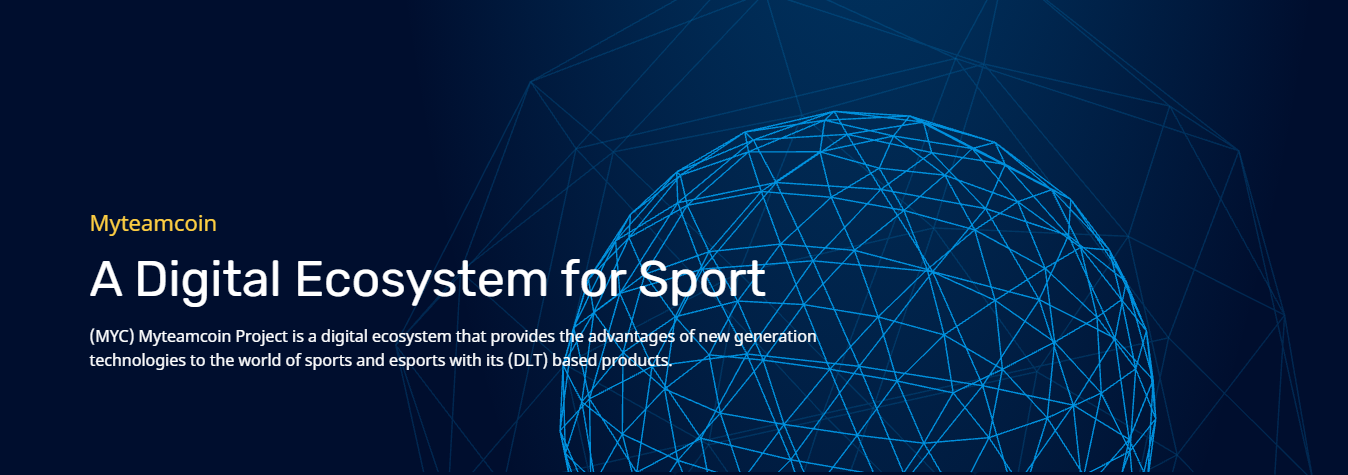 MyTeamCoin- A Digital Ecosystem for Sports. Listed on Coinmarketcap & Coingecko